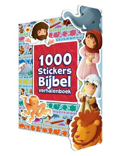 1000 Stickers Bijbel verhalenboek (Paperback)