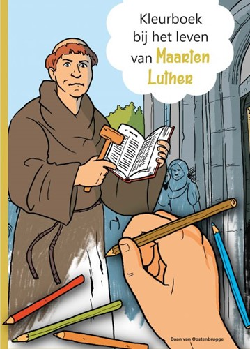 Kleurboek bij het leven van Maarten Luther (Boek)