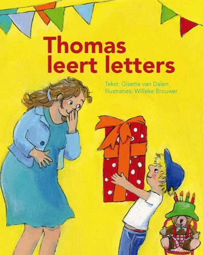 Thomas leert letters (Hardcover)