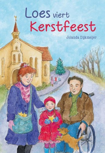 Loes viert kerstfeest (Hardcover)