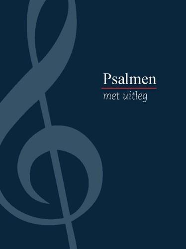 Psalmboek met uitleg (blauw)