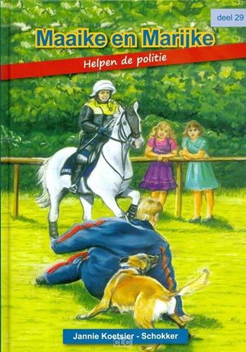 Maaike en Marijke helpen de politie (Hardcover)