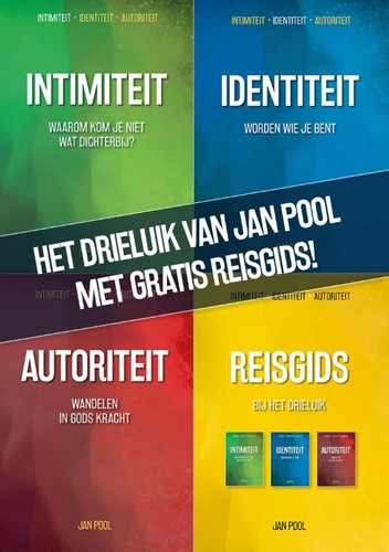 Drieluik-pakket van Jan Pool met gratis Reisgids! (Paperback)