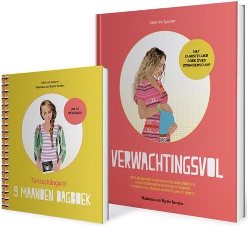 Pakket verwachtingsvol + negenmaandendagboek (Hardcover)