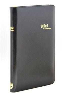 KanttekeningBijbel KTB33 dundruk met rits (Leder/Luxe gebonden)