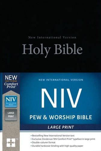 NIV LP pew bible (Boek)