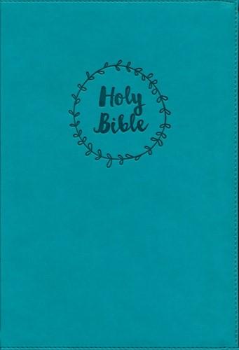 NIV value LP thinline bible teal imitati (Boek)
