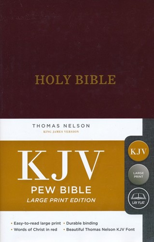 KJV LP pew bible (Boek)