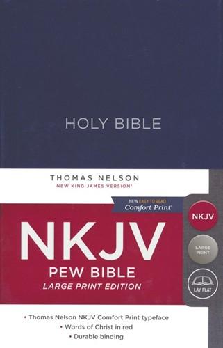 NKJV large print pew bible (Paperback)