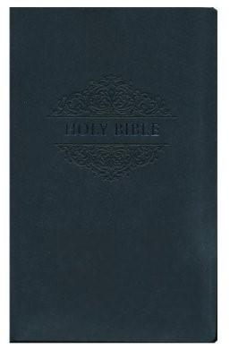 NKJV soft touch bible black imitation le (Boek)