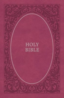 NKJV soft touch bible pink imitation leather (Leer/Luxe gebonden)