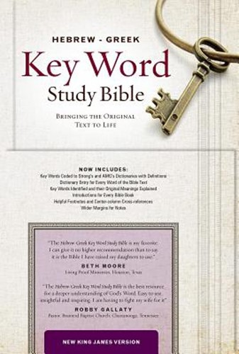 NKJV Hebrew-Greek key word study Bible (Boek)