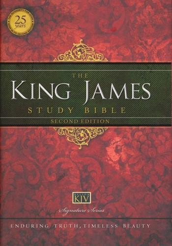King james study bible (Hardcover)