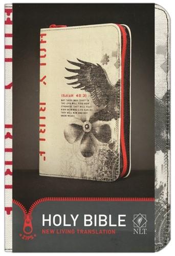 NLT zips bible colour canvas cover red (Boek)