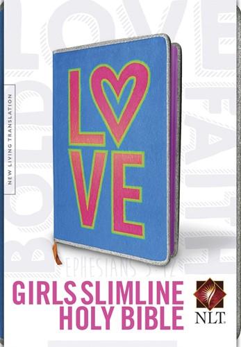 NLT slimline bible for girls (Boek)