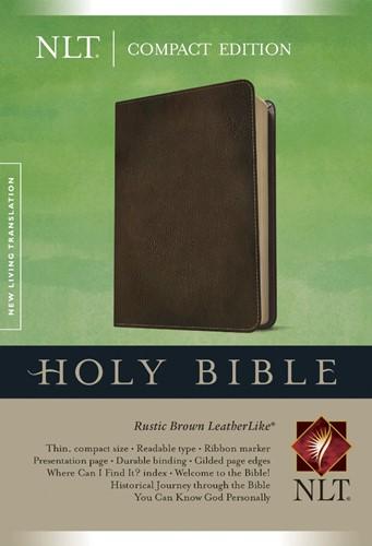 NLT compact bible (Boek)