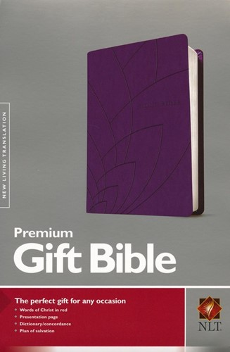 NLT gift bible purple (Boek)