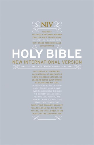 NIV pocket bible (Hardcover)