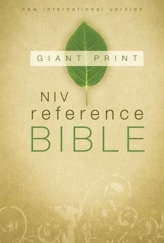 NIV / Giant Print ref. bible (Boek)