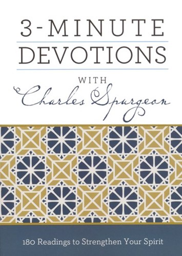 3-minute devotions with Charles Spurgeon (Boek)
