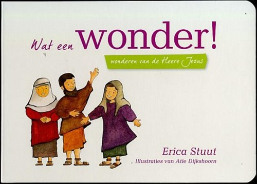 Wat een Wonder (Kartonboek)