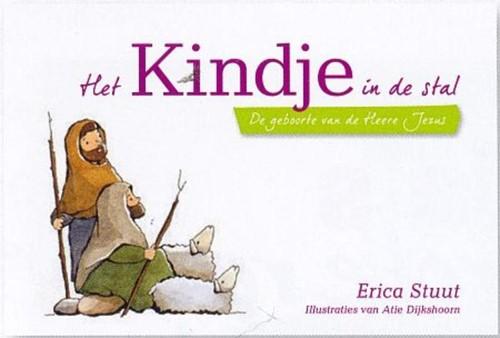 Het kindje in de stal (Kartonboek)