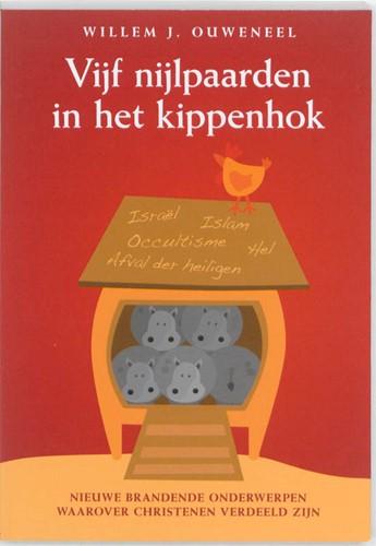 Vijf nijlpaarden in het kippenhok (Boek)