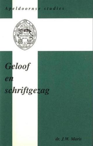 Geloof en schriftgezag (Hardcover)
