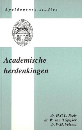 Academische herdenkingen (Boek)
