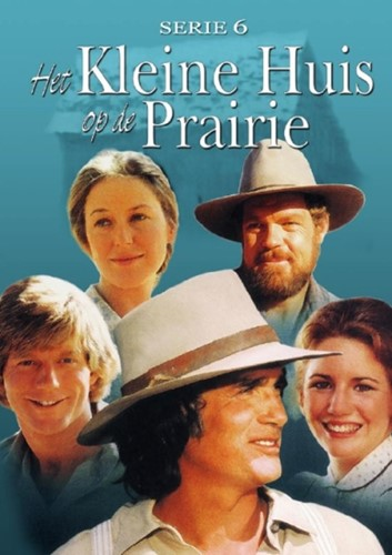 Kleine huis op de prairie serie 6 (DVD)