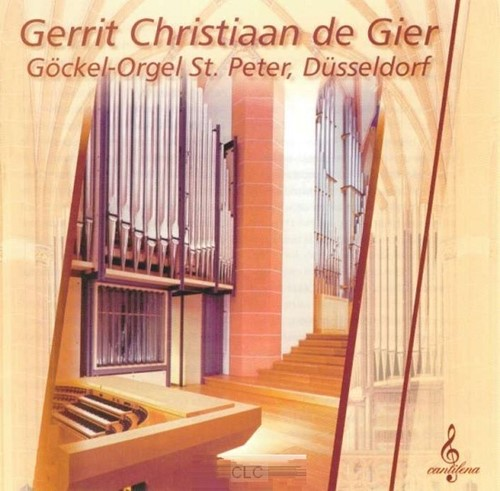 Gockel-orgel St. Peter Dusseldorf (CD)