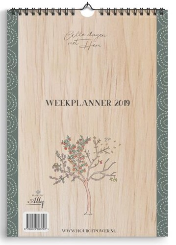 Weekplanner Hour of Power 2019 (Kalender)