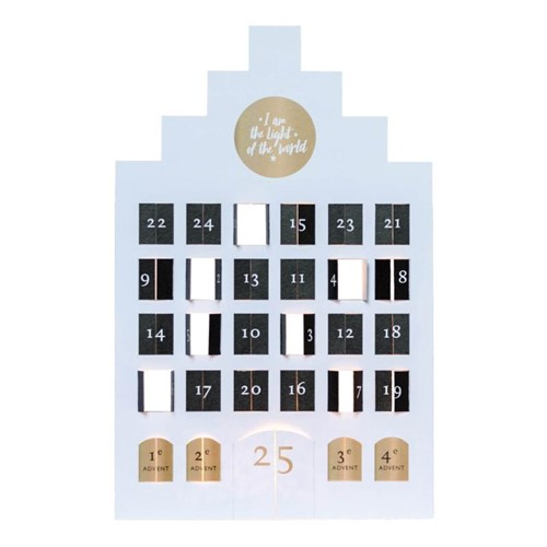 Adventskalender groot - Light of the world (Kalender)