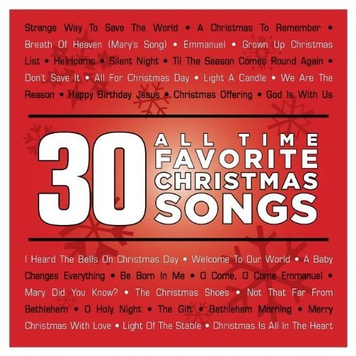 30 all-time favorite christmas song (CD)