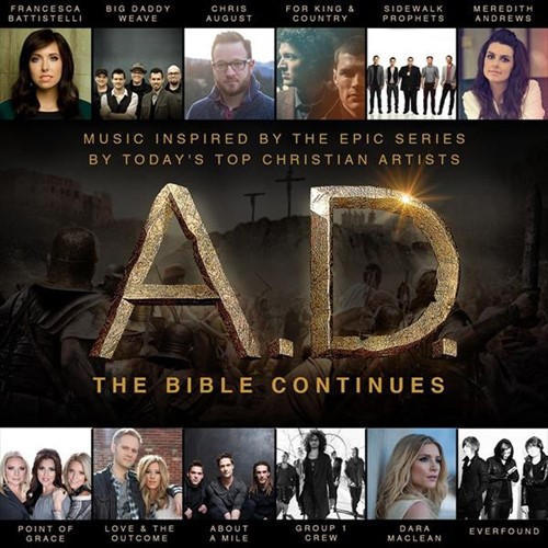 A.d. music insp. by epic tv event (CD)