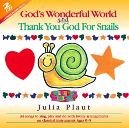 Gods wonderful world and thank you (CD)