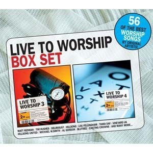Live to worship box set 3&4 (CD)