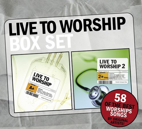 Live to worship box set 1&2 (CD)