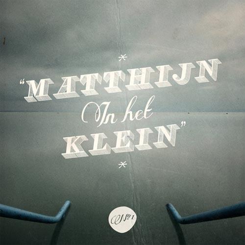 Matthijn in het klein (CD)