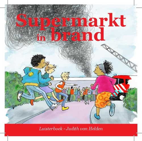 Supermarkt in brand (CD)