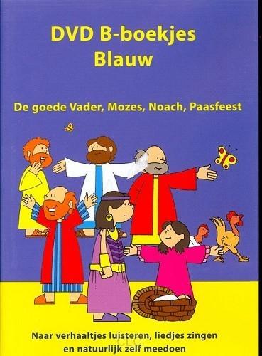 DVD B-boekjes blauw (DVD-rom)