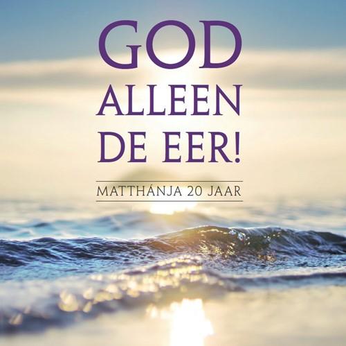 God alleen de eer (CD)
