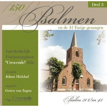150 Psalmen en de 12 enige gezangen deel 3 (CD)