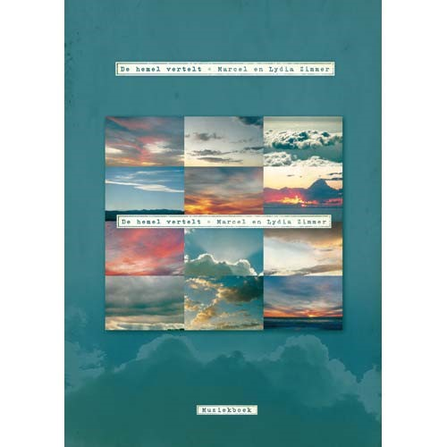 De hemel vertel - Muziekboek (Bladmuziek)