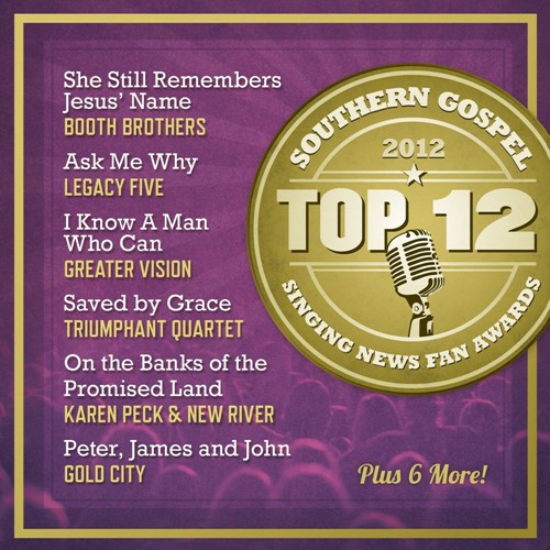 Top 12 Southern Gospel Songs Of 2012 (CD)