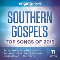 Singing News Southern Gospel Songs 2015 (CD)