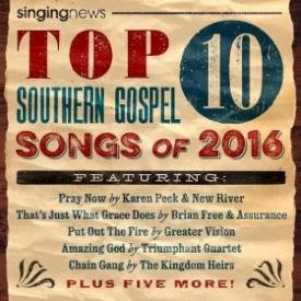 Singing News Top 10 Songs 2016 (CD)