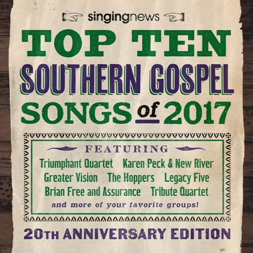 Singing News Top 10 Songs 2017 (CD)