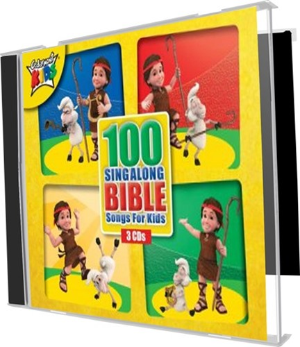 100 Sing Along Bible Songs For Kids 3cd (CD)