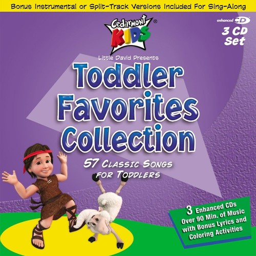Toddler Favorites Collection 3cd Pack (CD)